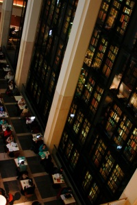The British Library, a data institution. Image by Richard Wright.